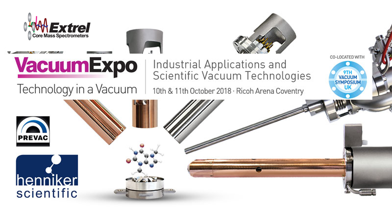 henniker scientific attend vacuum expo vs9 sponsors