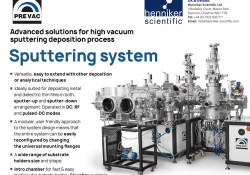 Advanced solutions for high vacuum sputter deposition processes