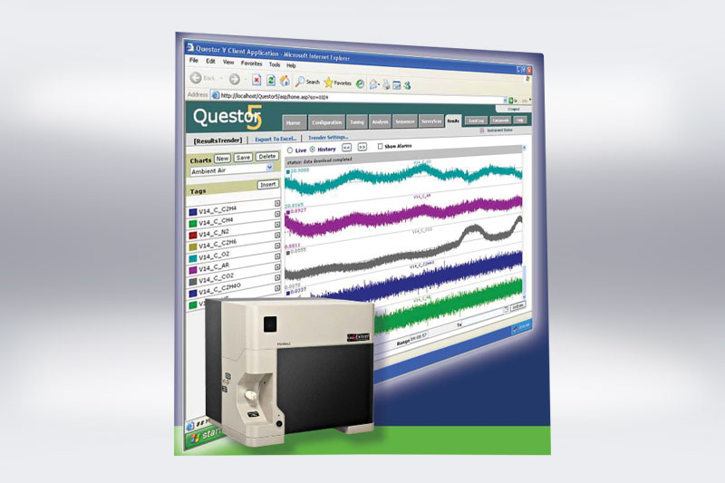 Henniker Scientific Membrane Analyser Questor Software