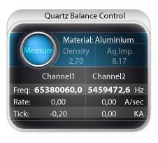 Henniker Scientific Quartz Balance Software
