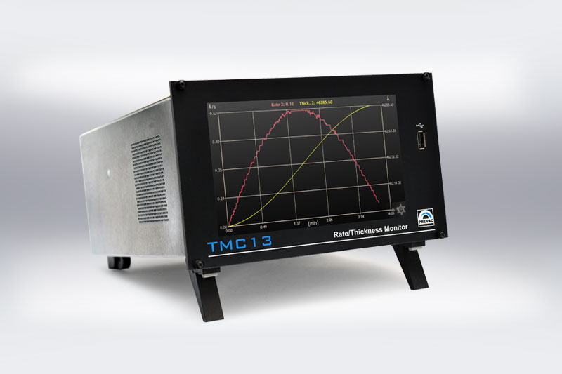 TMC13 Thin Film  Deposition Rate Controller 2D Graph